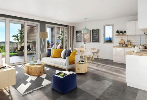 Appartement de luxe à vendre LYON, 100 m², 849000€