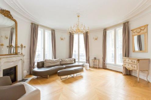 Luxus-Wohnung zu vermieten PARIS 16E, 138 m², 3 Schlafzimmer, 4290€/monat