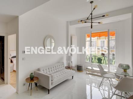 Luxus-Wohnung zu verkaufen Nizza, 50 m², 1 Schlafzimmer, 510000€