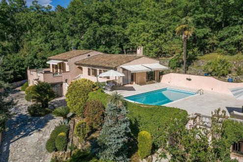 Villa de luxe à vendre GRASSE, 290 m², 6 Chambres, 1390000€