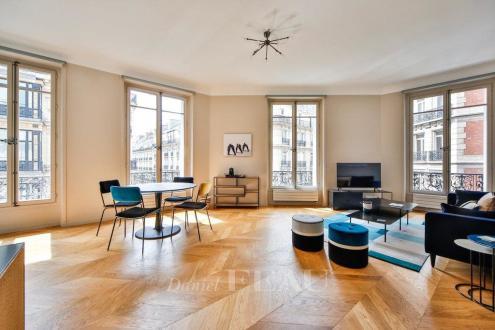 Appartement de luxe à louer PARIS 8E, 94 m², 2 Chambres, 6500€/mois