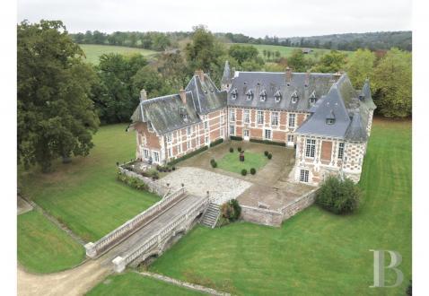 Luxus-Schloss / Herrenhaus zu verkaufen LISIEUX, 1400 m², 12 Schlafzimmer, 2520000€