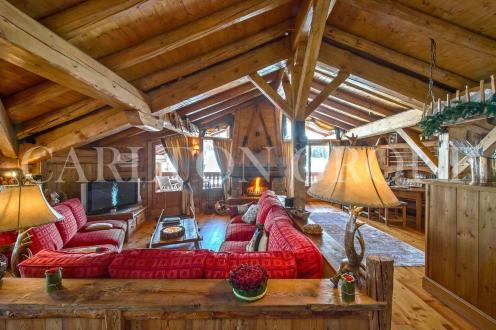 Luxury Chalet for rent COURCHEVEL, 400 m², 4 Bedrooms,