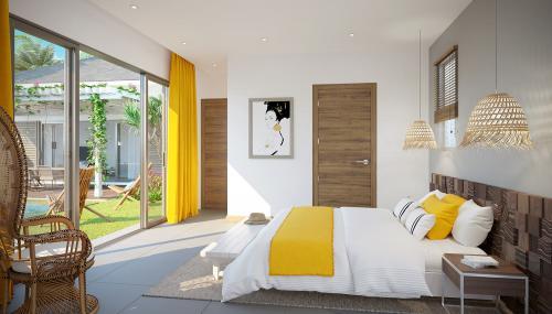 Luxus-Villa zu verkaufen Mauritius, 125 m², 3 Schlafzimmer, 627692€