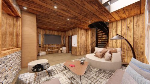 Luxus-Wohnung zu verkaufen DEMI QUARTIER, 100 m², 3 Schlafzimmer