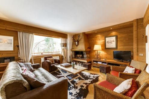 Luxury Apartment for rent MEGEVE, 90 m², 2 Bedrooms,