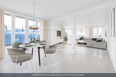 Luxury Apartment for sale PARIS 16E, 195 m², 3 Bedrooms, €5650000
