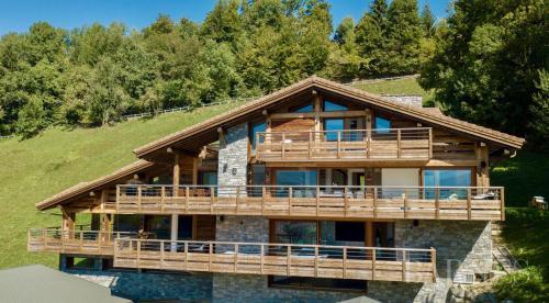 Chalet de luxe à vendre SAINT JEAN DE SIXT, 500 m², 4 Chambres, 3990000€