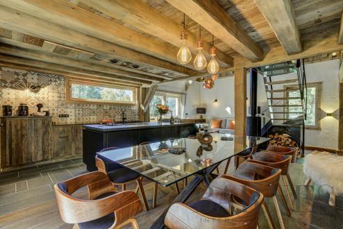 Luxus-Chalet zu vermieten CHAMONIX MONT BLANC, 200 m², 4 Schlafzimmer,