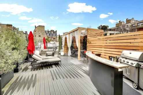Luxus-Wohnung zu verkaufen PARIS 16E, 283 m², 4 Schlafzimmer, 6300000€