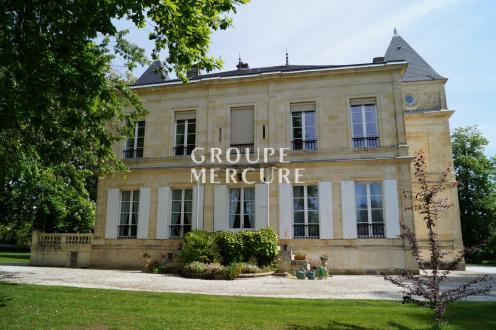 Hôtel particulier de luxe à vendre BORDEAUX, 525 m², 10 Chambres, 2100000€