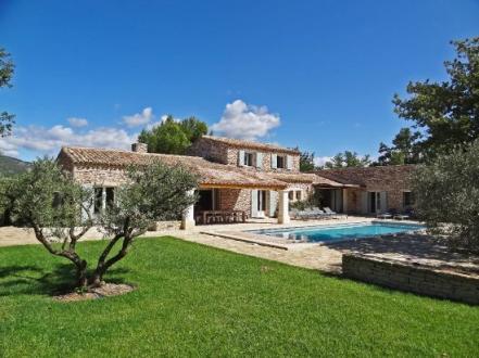 Luxury House for rent GORDES, 5 Bedrooms,