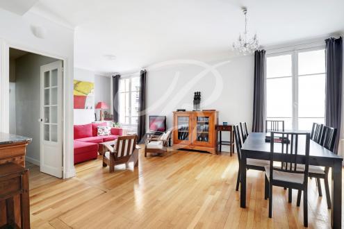 Квартира класса люкс на продажу  Париж 8ой, 108 м², 3 Спальни, 1390000€