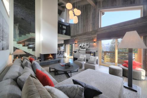 Chalet de luxe à louer COMBLOUX, 190 m², 5 Chambres,