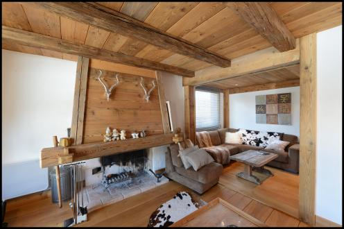 Luxus-Wohnung zu vermieten MEGEVE, 180 m², 6 Schlafzimmer,