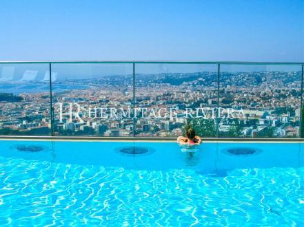 Appartement de luxe à louer NICE, 120 m², 3 Chambres,