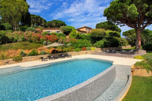 Maison de luxe à louer LA CROIX VALMER, 340 m², 7 Chambres,