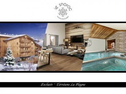 Luxus-Wohnung zu verkaufen LA PLAGNE, 123 m², 4 Schlafzimmer, 747000€