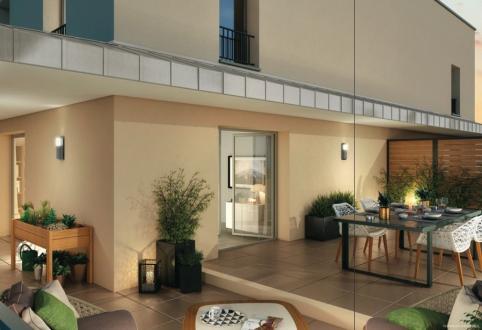 Luxus-Wohnung zu verkaufen AIX EN PROVENCE, 108 m², 5 Schlafzimmer, 664000€