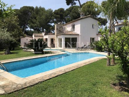 Luxus-Haus zu vermieten CAP D'ANTIBES, 200 m², 5 Schlafzimmer,