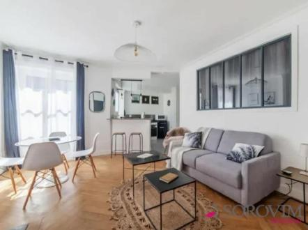 Luxury Apartment for rent LYON, 46 m², 1 Bedrooms, €1100/month