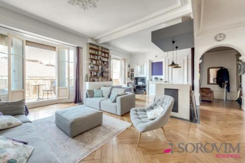 Appartement de luxe à vendre LYON, 101 m², 2 Chambres, 845000€