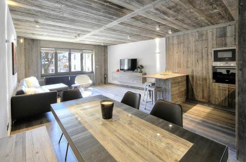 Luxus-Wohnung zu vermieten MEGEVE, 65 m², 2 Schlafzimmer,