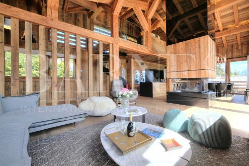 Luxe Landhuis te huur MEGEVE, 319 m², 5 Slaapkamers,