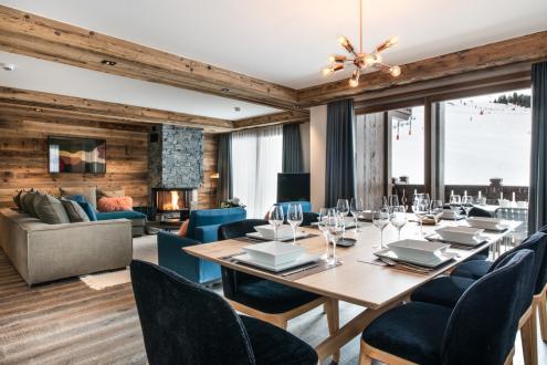 Appartement neuf de luxe à vendre COURCHEVEL, 123 m², 4 Chambres, 3147000€