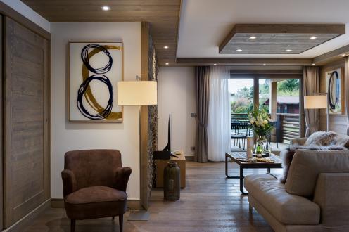 Новые апартаменты класса люкс на продажу  Куршевель, 127 м², 4 Спальни, 3065000€