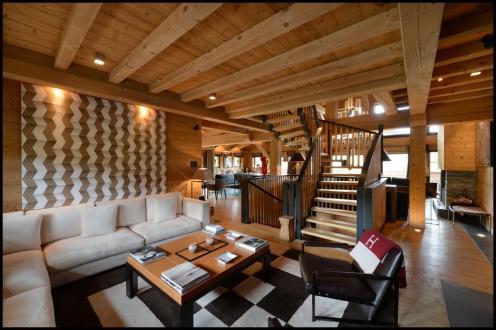 Шале класса люкс в аренду Межев, 750 м², 5 Спальни,