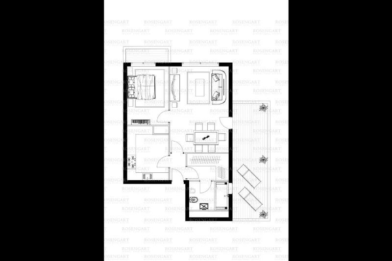 Appartement de prestige Monaco, 57 m², 1 Chambres, 4200000€