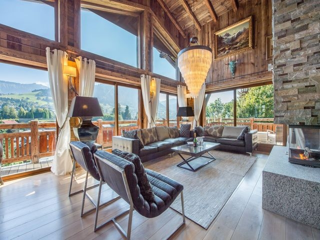Luxury Chalet for rent MEGEVE, 330 m²,