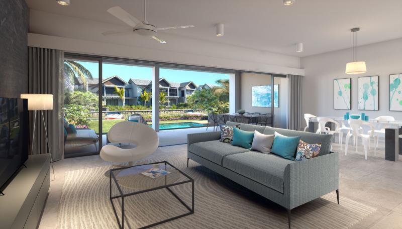 Appartement de prestige Ile Maurice, 128 m², 2 Chambres, 665000€