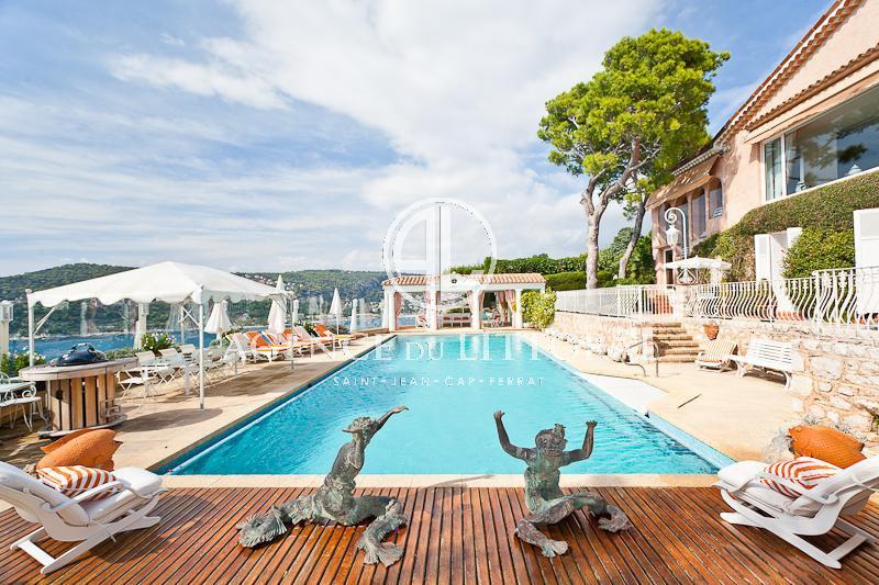 Maison de luxe à louer SAINT JEAN CAP FERRAT, 7 Chambres,