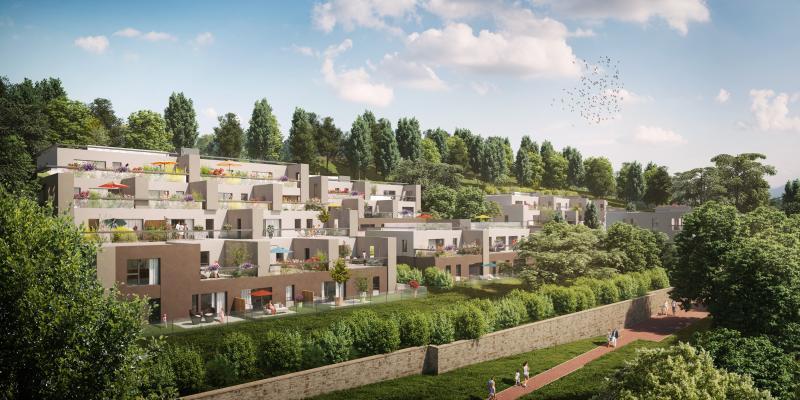 Verkauf Prestige-Neubauwohnung SAINT CYR AU MONT D'OR