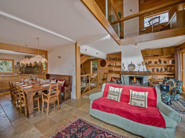 Luxus-Chalet zu vermieten MERIBEL LES ALLUES, 300 m², 6 Schlafzimmer,
