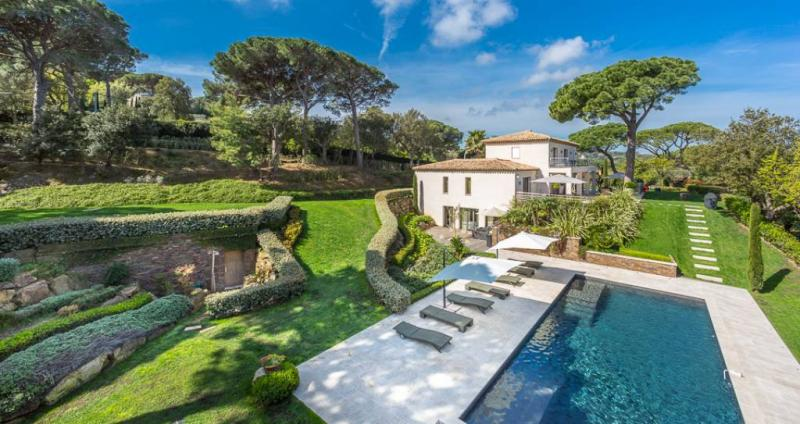 Luxury House for rent SAINT TROPEZ, 413 m², 6 Bedrooms,