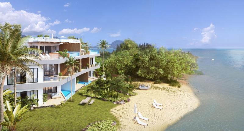 Appartement de prestige Ile Maurice, 158 m², 3 Chambres, 837400€
