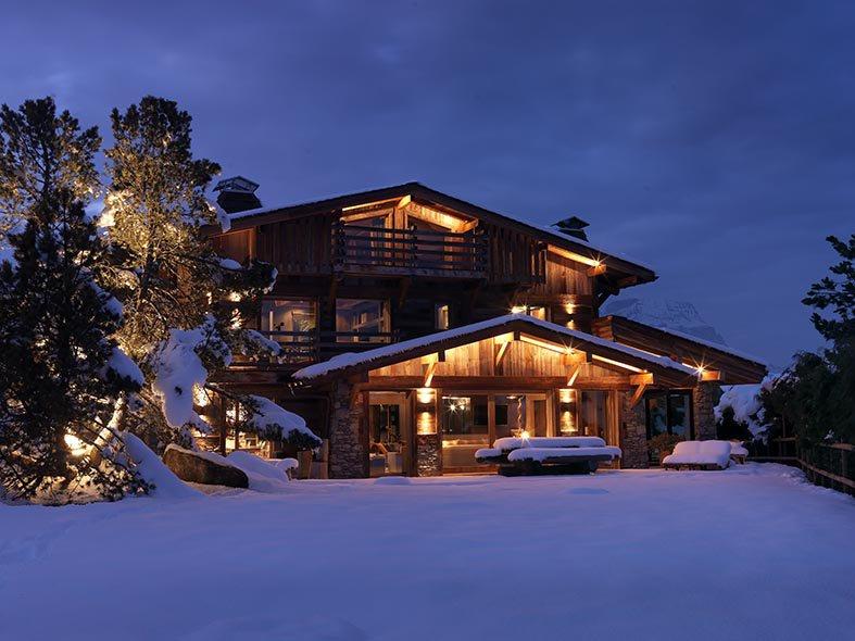 Chalet de luxe à louer COMBLOUX, 270 m², 4 Chambres,