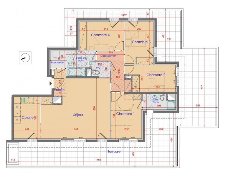 Verkoop Prestigieuze Nieuwbouw appartement VETRAZ MONTHOUX