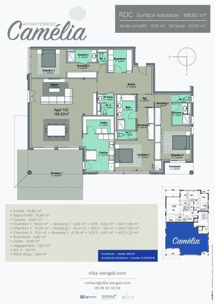 Vendita Appartamento nuovo di prestigio HOSSEGOR