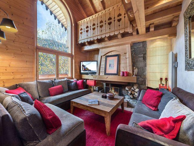 Luxus-Chalet zu vermieten MERIBEL LES ALLUES, 160 m², 5 Schlafzimmer,