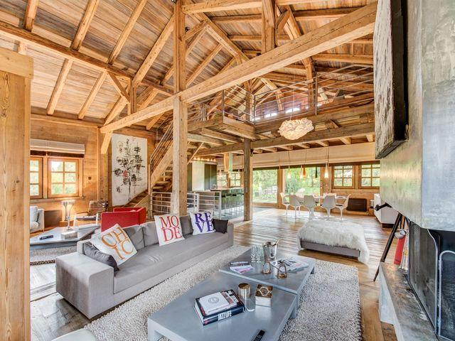 Luxury Chalet for rent MEGEVE, 240 m², 4 Bedrooms,